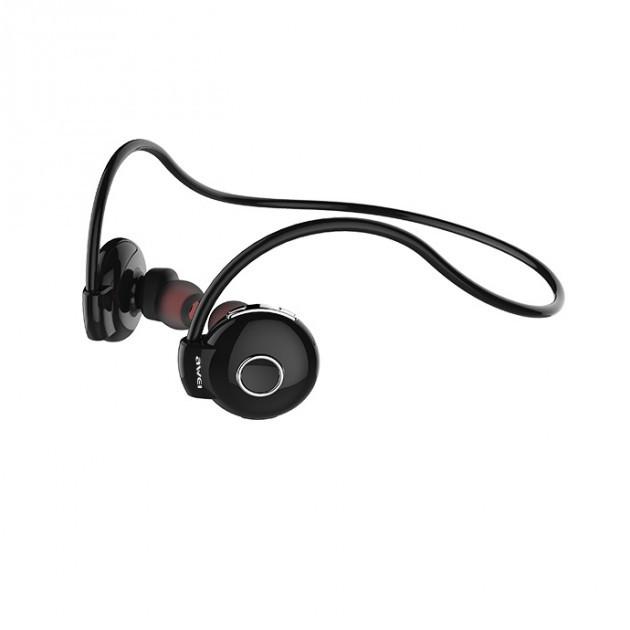 Беспроводные Bluetooth наушники Awei A845BL, черные