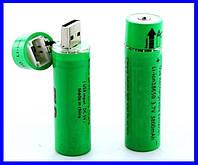 USB Аккумуляторы Li-ion 18650 (пальчиковый) 3,7v, емкостью 3800 мАч. ( 77177 ), фото 1