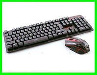 Беспроводная Клавиатура и Мышь комплект - 6500 (Видео Обзор) ( 77177 ), фото 1