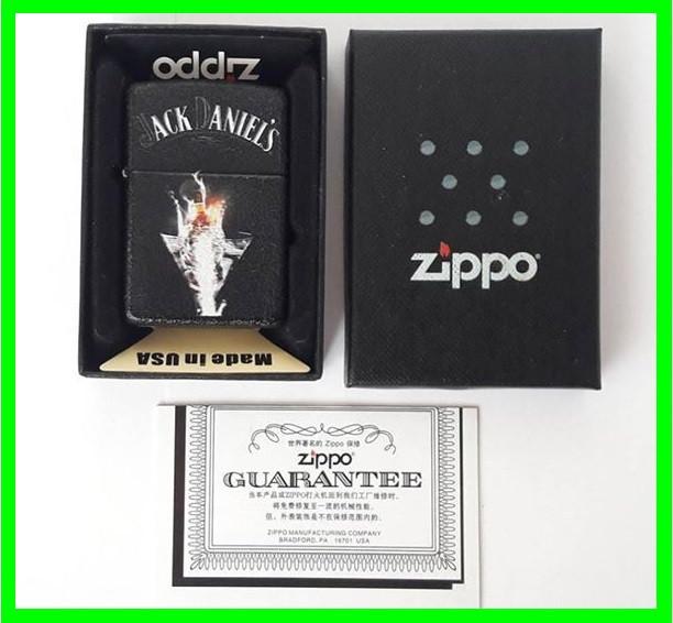 Зажигалка ZIPPO Бензиновая (Jack Daniels) - 03 ( 77177 )
