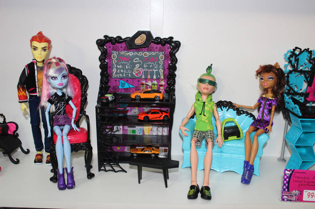 Куклы Monster High б/у фото