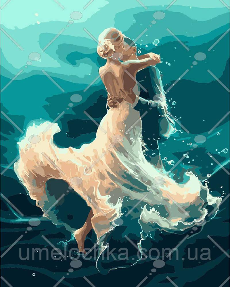 Картина по номерам На волне танца 40 х 50 см (KH4566)