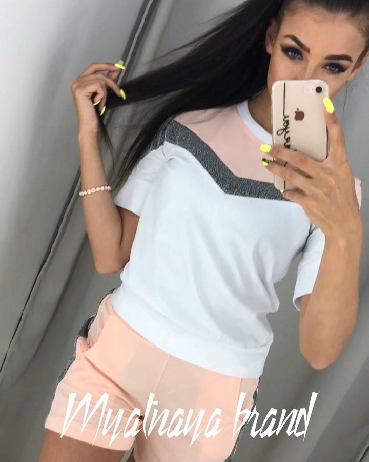 76a096b4357 Купить Женский костюм (шорты+футболка)