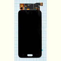 Модуль (дисплей + сенсор) Samsung J2 / J250 (2018) + Touchscreen Black (рег.подсветка / light change)