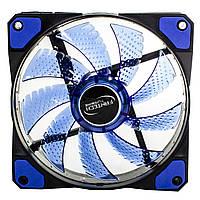 ☇ Куллер Fantech FC-121 TURBINE Blue вентилятор охлаждения 1200 об/мин Гидравлический подшипник