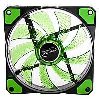 ✸ Ветилятор Fantech FC-121 TURBINE Green вентилятор охлаждения 1200 об/мин Гидравлический подшипник для Пк