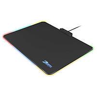 ☞Коврик с подсветкой ZELOTES P-17 для мыши светодиодный игровой для Пк и ноутбука, фото 3