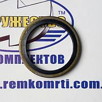 Кольцо-шайба М6 (6.7 х 9.8 х 1) резино-металлическое самоцентрирующиеся