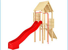 Горки для детей 2,5 м., горка для детской площадки, фото 3