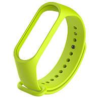 Ремешок для фитнес браслета, трекера Xiaomi Mi Band 3 (зеленый)