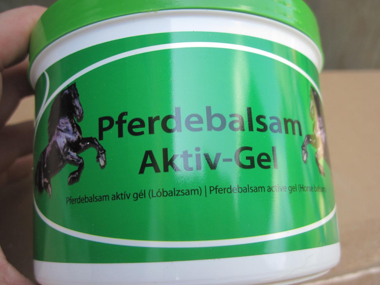 Лошадиный гель для суставов pferdebalsam жидкость рядом со скакательным суставом