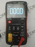 Цифровой мультиметр ZT-X  (тестер вольтметр) 9999 отсчётов