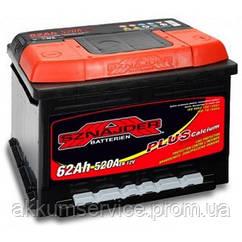 Акумулятор автомобільний Sznajder Plus +Ca 62AH L+ 580А (56296)