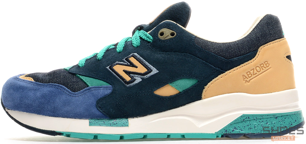 "Мужские кроссовки New Balance x Social Status CM1600 ""Winter in the Hamptons"", Нью беланс 1600"