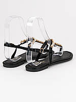Женские сандали Bestelle черного цвета