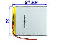 Аккумулятор (3500 мАч) для планшета Bravis, Nomi, X-Digital Tab, Jeka, Impression ImPAD 3.7v 3500 mAh 357994