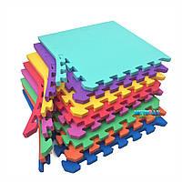 """Коврик - пазл """"EVA"""", набор 8 элементов 500х500х20 мм, площадь 2м.кв."""