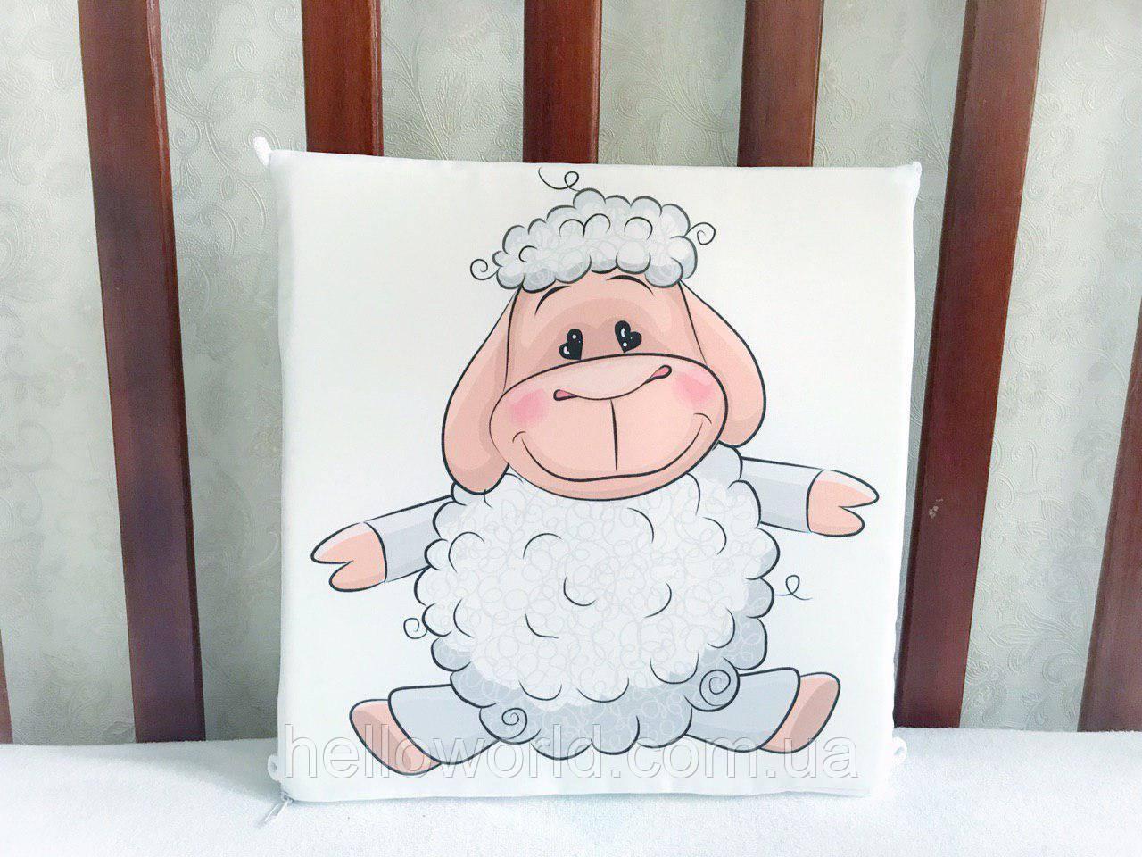 Бортик Белая овечка