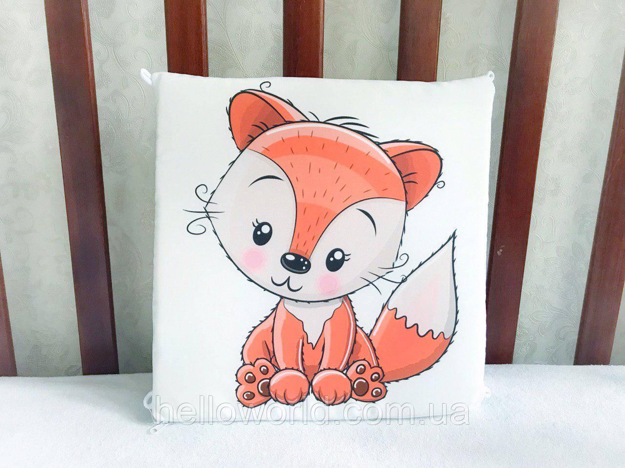 Бортик Рыжая лисичка