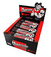 Упаковка батончиков Monsters High Protein Bar Клубника 12 шт х 80 г