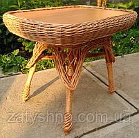Кухонный стол плетеный