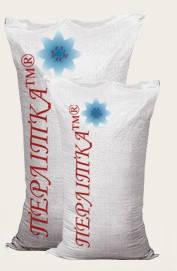 Цементно-перлитовая штукатурная смесь для фасадных работ Перлитка ШТ5 на белом цементе (25кг/75л.)