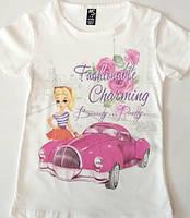 Стильная футболка для девочки
