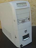 Компьютер для работы  + корпус с жк-экраном
