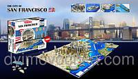Пазлы 4D Сан-Франциско Cityscape 40044, 1130 деталей