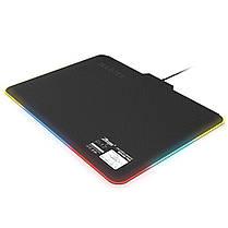 ☀ Коврик для мыши ZELOTES P-17 с подсветкой светодиодный игровой для ноутбуков ПК, фото 2