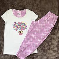 Комплект футболка та бріджі жіночі