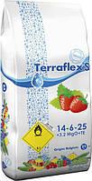 Terraflex - S (14-6-25 + 3,2 MgO + TE) - для ягодных культур, 25кг