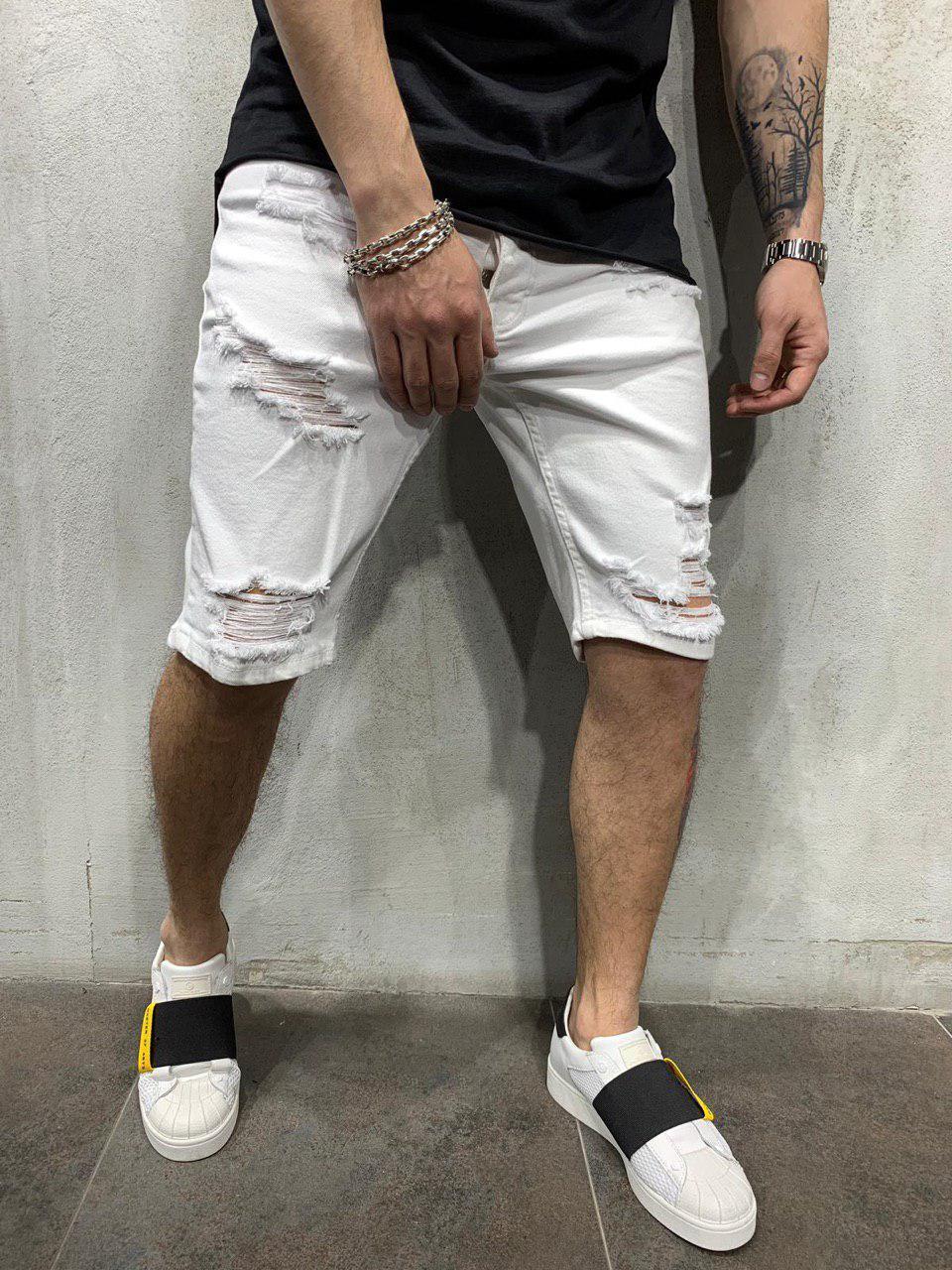 😜 Мужские белые шорты
