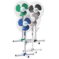 Підлоговий вентилятор 60Вт 3 режими MR-900 білий