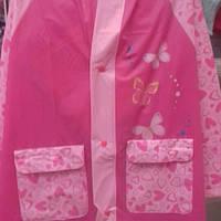 Дождевик для девочки  Бабочки17-808-2 размер уточнять