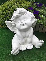 Садова фігура ангел карапуз А (висота 38 см )