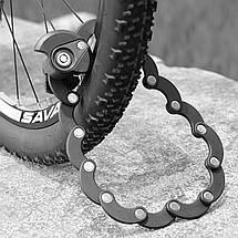 Складной замок для велосипеда BIKIGHT, фото 3