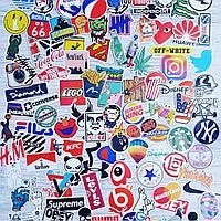 Водоотталкивающие стикеры на ноутбук, авто, велик, скейт, Стикербомбинг, виниловые наклейки НАБОР №5 - 25 шт