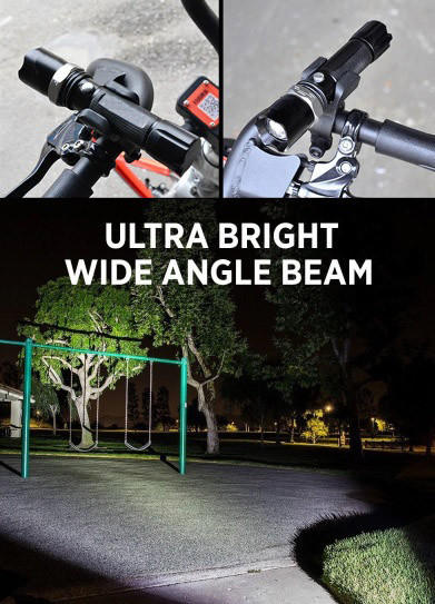 Велофонарь аккумуляторный BL-8626w
