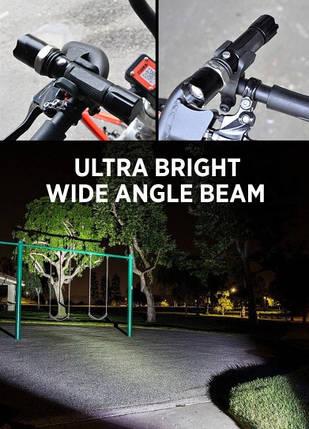 Велофонарь аккумуляторный BL-8626w, фото 2