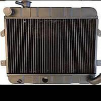 Радиатор ВАЗ 2101-02, медый  основной, 2х рядный Иран