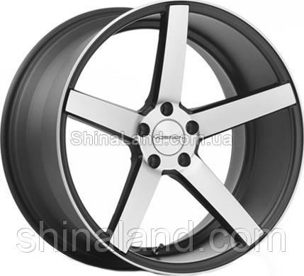 Литые диски Vossen CV3 10,5x20 5x120 ET42 dia72,6 (MT BLK MF)