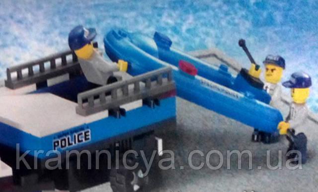 """Купить Конструктор SLUBAN """"Полицейский спецназ"""" для мальчиков 403 детали в Крамниці Творчості"""