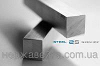 Квадрат нержавеющий 25мм AiSi 304 (08Х18Н10), пищевой, фото 1