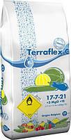 Terraflex - C (17-7-21 + 3 MgO + TE) - для огурцов, кабачков, и бахчевых культур, 25кг