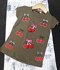 Модная Футболка для Девочек Kids Ананас ( 0002311), фото 6