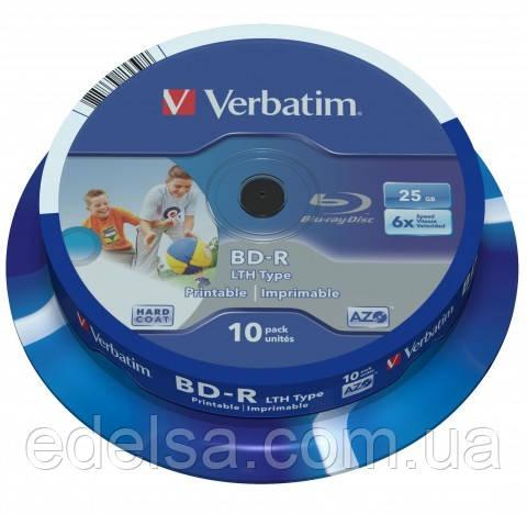 Verbatim Blue-Ray диски BD-R printable (под печать)