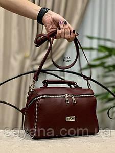 Женская сумка с декором в расцветках. ИТ-2-0519