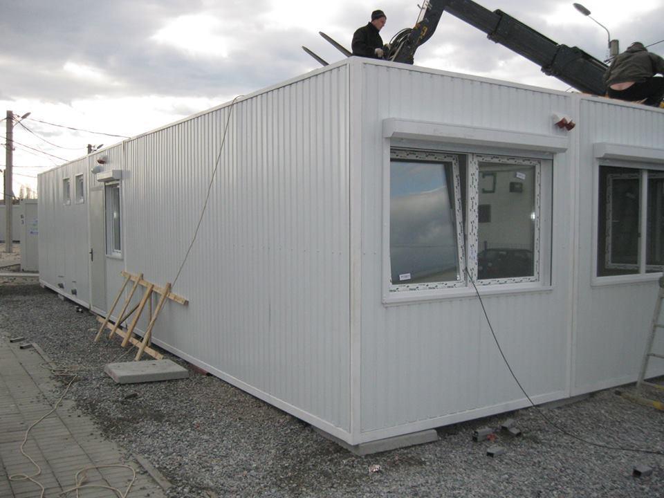 Модульные здания каркасного типа