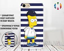 Силиконовый чехол для Samsung G973 Galaxy S10  Bart Simpson 1 (28233-3194)